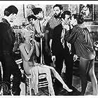 Julian Burton, Dick Miller, and Barboura Morris in A Bucket of Blood (1959)