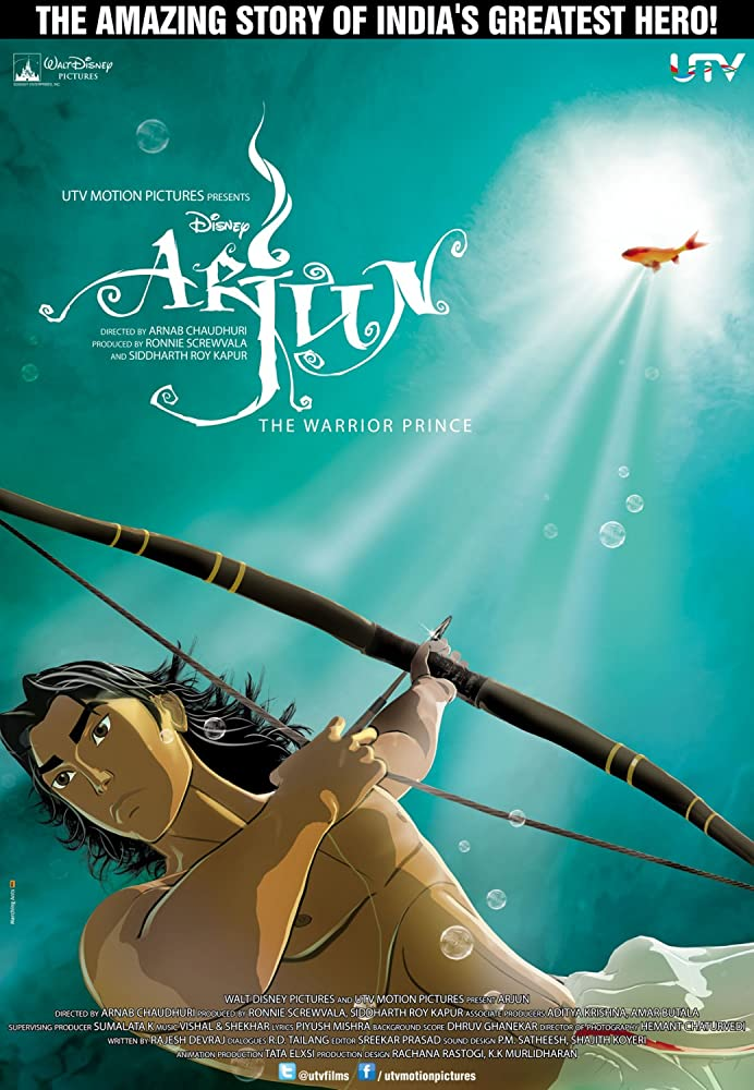 Arjun The Warrior Prince (2012) Hindi 300MB WEB-DL 480p x264 ESubs