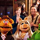 Steve Whitmire, Eric Jacobson, Kermit the Frog, Miss Piggy, and Fozzie Bear in The Muppets (2011)