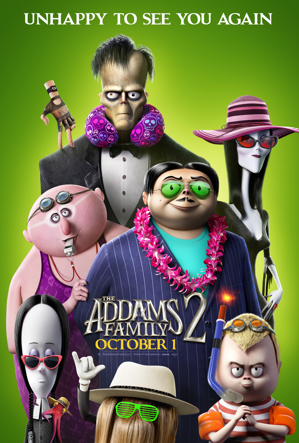 The Addams Family 2 (2021) Tamil Dubbed (Voice Over) & English [Dual Audio] WebRip 720p [1XBET]
