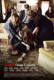 Ewan McGregor, Julia Roberts, Juliette Lewis, Dermot Mulroney, Meryl Streep, Chris Cooper, and Margo Martindale in August: Osage County (2013)