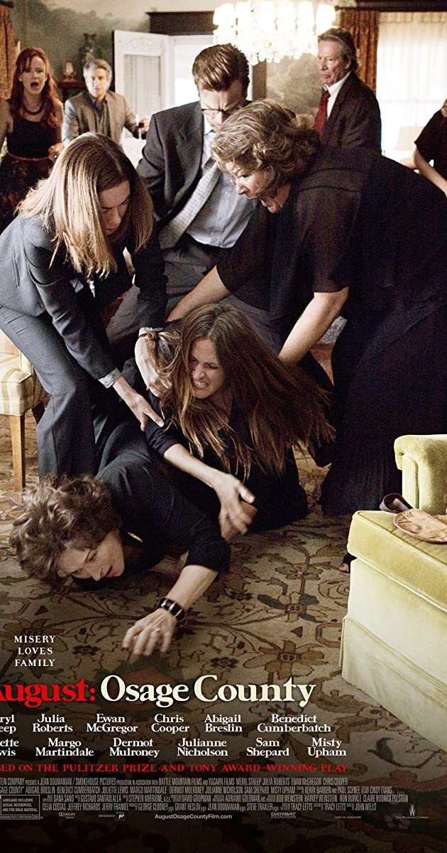 Subtitle of August: Osage County