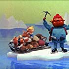 Larry D. Mann, Billie Mae Richards, and Paul Soles in Rudolph the Red-Nosed Reindeer (1964)