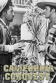 Eugene Iglesias and Cornel Wilde in California Conquest (1952)