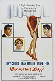 Who Was That Lady? Poster