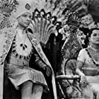 Debra Paget and Walther Reyer in Journey to the Lost City (1960)
