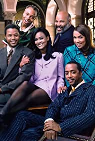Robin Givens, Terrence Howard, Kym Whitley, James Avery, Arif S. Kinchen, and Miguel A. Núñez Jr. in Sparks (1996)
