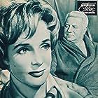 Jean Gabin and Micheline Presle in Le baron de l'écluse (1960)