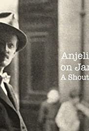 Anjelica Huston on James Joyce: A Shout in the Street Poster