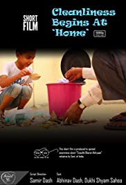 Cleanliness Begins at 'Home' Poster