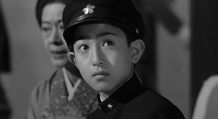 Masato Aizawa and Haruko Katô in Mishima: A Life in Four Chapters (1985)