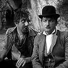 Aleksei Smirnov and Georgiy Vitsin in Delovye lyudi (1963)