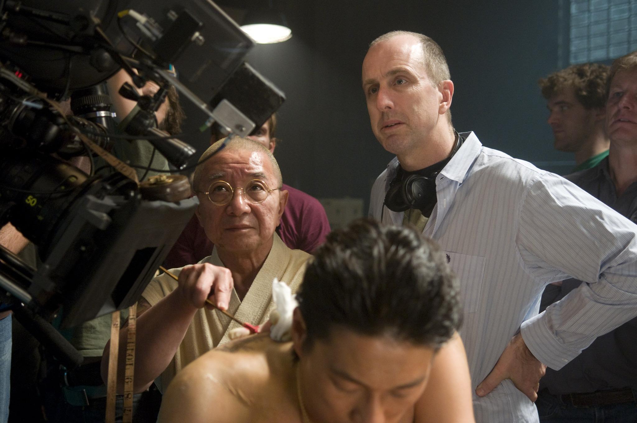 Randall Duk Kim and James McTeigue in Ninja Assassin (2009)