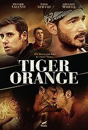 Tiger Orange Poster