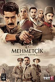 Ismail Hacioglu, Fatih Dönmez, Ogün Kaptanoglu, Dilsad Çelebi, Cansu Tosun, Ismail Ege Sasmaz, Berk Erçer, and Özgü Kaya in Mehmetçik Kut'ül Amare (2018)