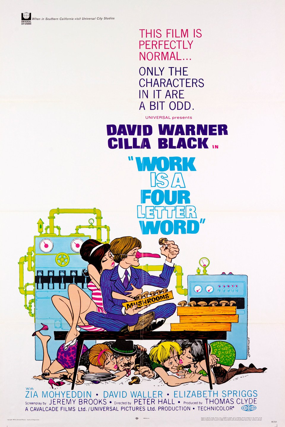 Work Is A 4 Letter Word 1968 Imdb