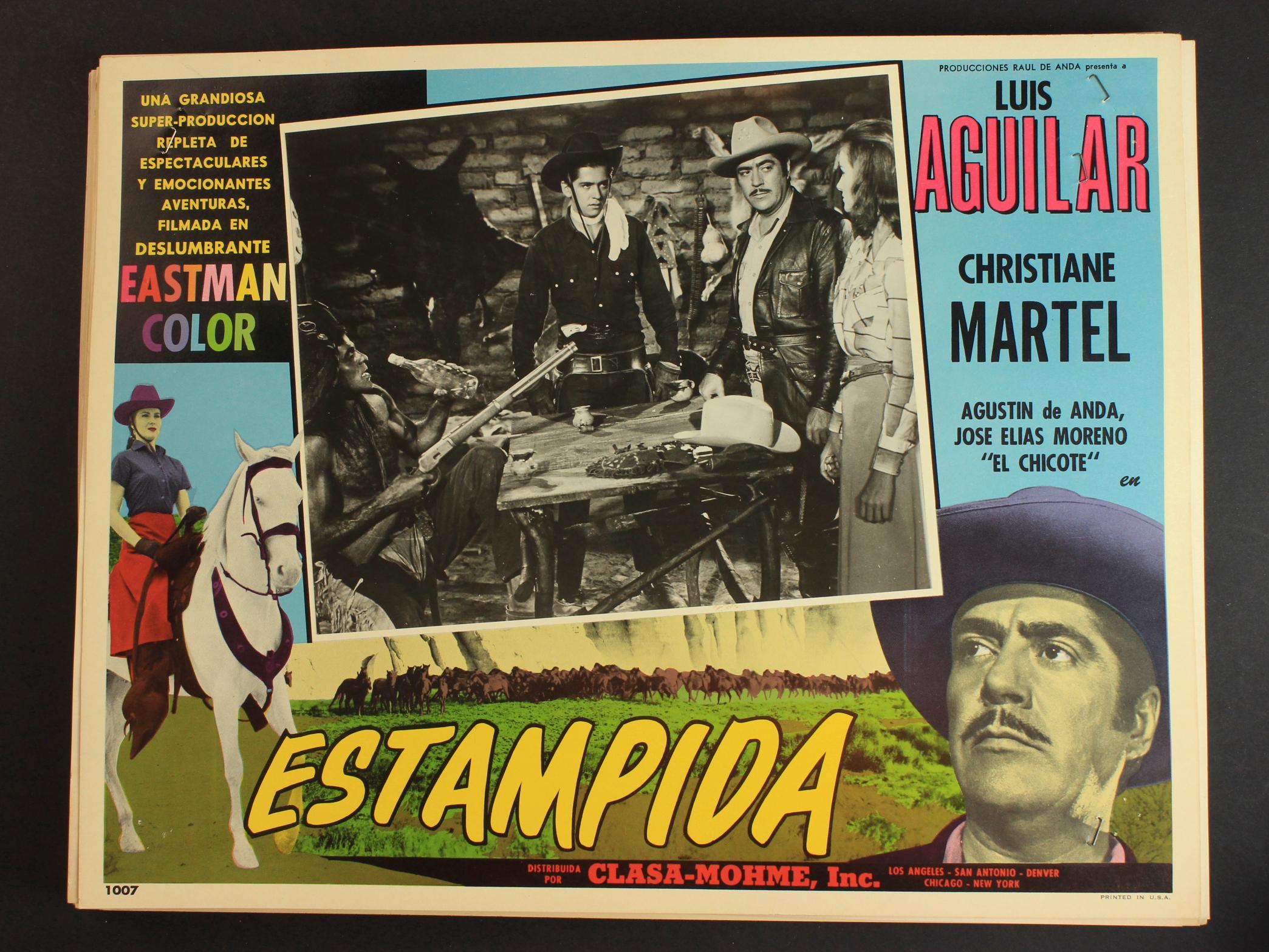 La estampida (1959)