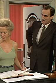 John Cleese and Connie Booth in Fawlty Towers (1975)