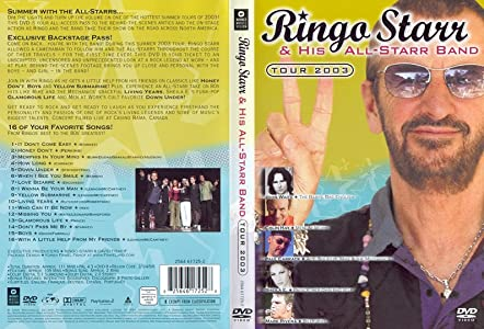 Watch online hollywood movie Ringo Starr and the All Starr Band 2003 by [1280x1024]