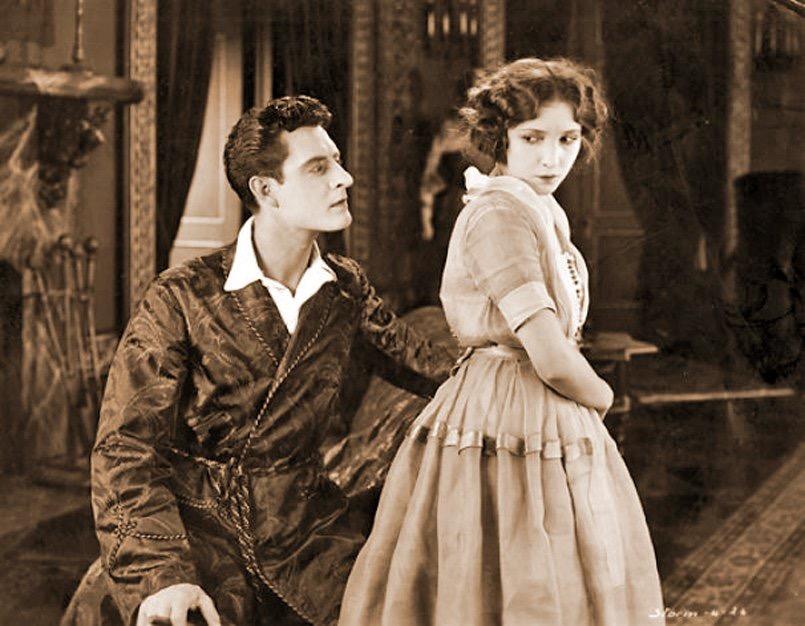 John Gilbert and Bessie Love in St. Elmo (1923)