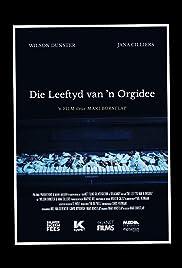 Die Leeftyd van 'n Orgidee Poster