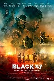 Stephen Rea, Hugo Weaving, James Frecheville, and Freddie Fox in Black '47 (2018)