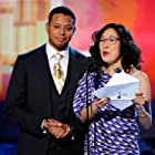 Terrence Howard and Sandra Oh at an event for The 2011 Independent Spirit Awards (2011)