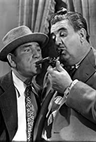 Billy Gilbert and Shemp Howard in Three of a Kind (1944)