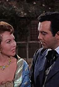 Hazel Court and Pernell Roberts in Bonanza (1959)