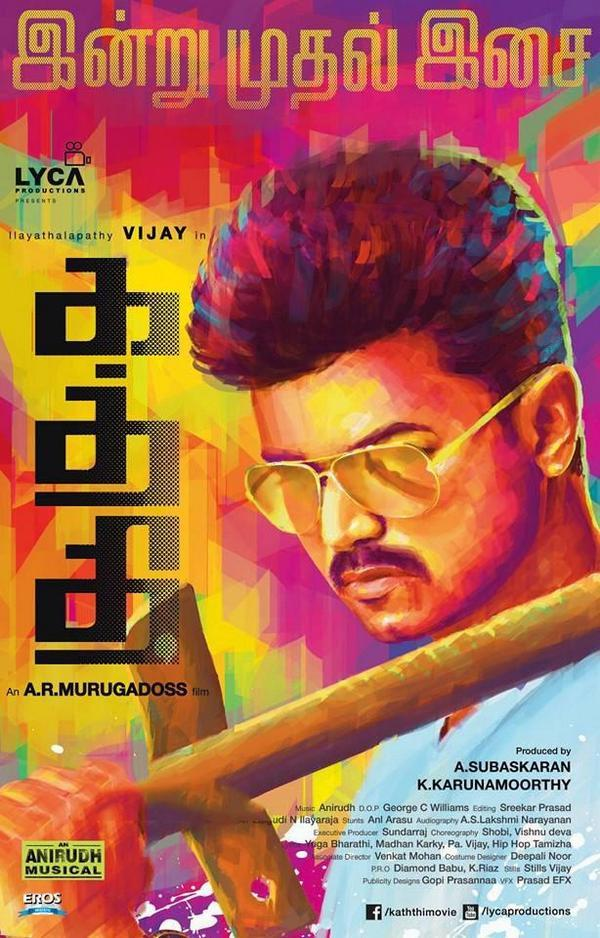 Kaththi 2014 Dual Audio Hindi 550MB UNCUT HDRip 480p ESubs Free Download