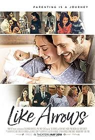 Alan Powell and Micah Lynn Hanson in Like Arrows (2018)