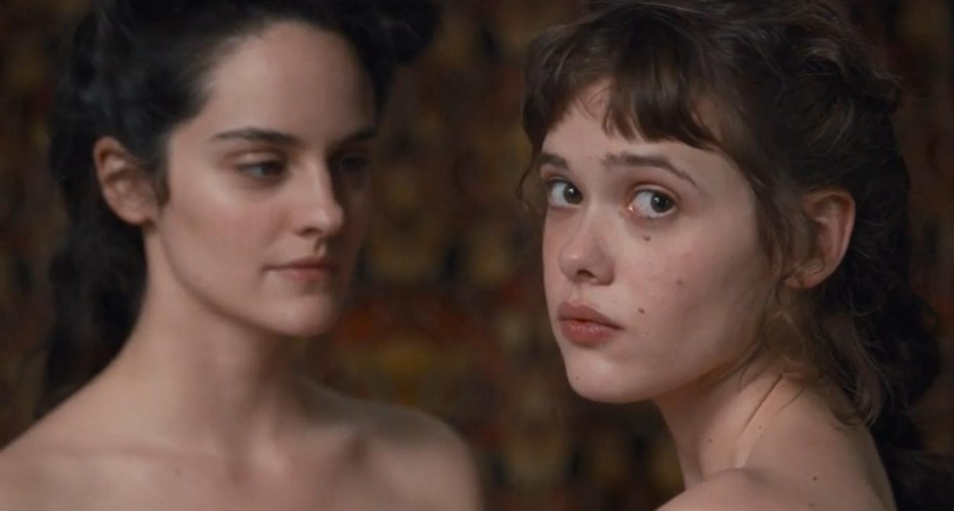 Noémie Merlant and Mathilde Warnier in Curiosa (2019)