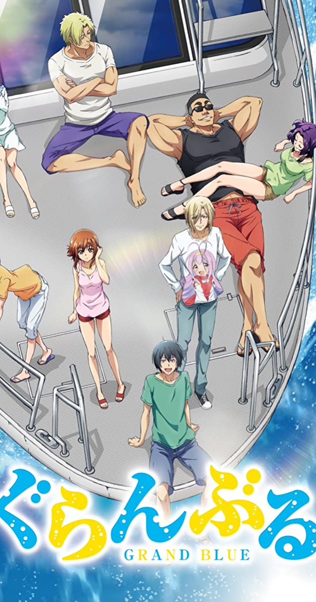 Download Grand Blue or watch streaming online complete episodes of  Season 1 in HD 720p 1080p using torrent