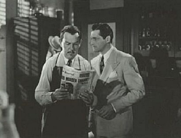 Kane Richmond and Sidney Toler in Charlie Chan in Reno (1939)