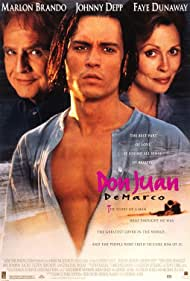 Marlon Brando, Johnny Depp, and Faye Dunaway in Don Juan DeMarco (1994)