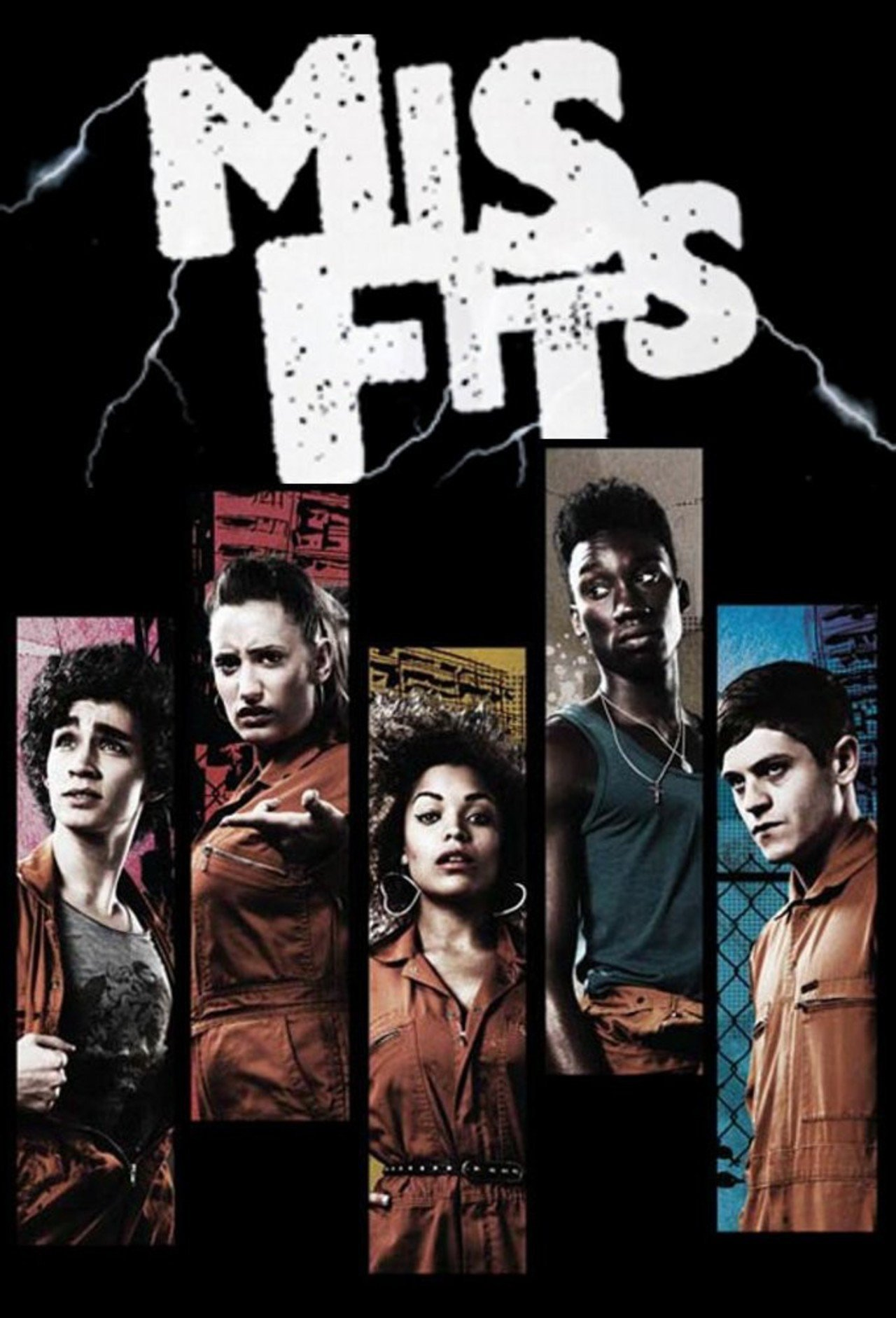 Misfits tv show logo — photo 2
