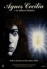 Agnes Cecilia - En sällsam historia Poster