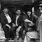 Pierre Curzi, Michel Côté, Rémy Girard, and David La Haye in Dans le ventre du dragon (1989)