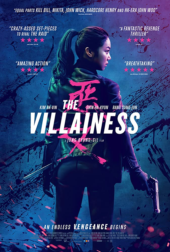 The Villainess (2017) Korean Hindi Dubbed Movie Download HDRip 720p