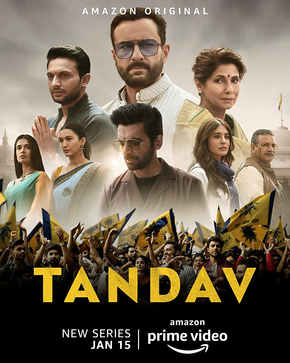 Tandav S01 (2021) Hindi Complete Amazon Original Web Series HDRip 950MB