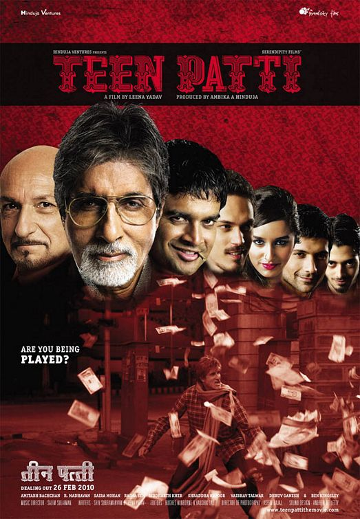 Teen Patti 2010 Hindi Movie 400MB WEB-DL 480p