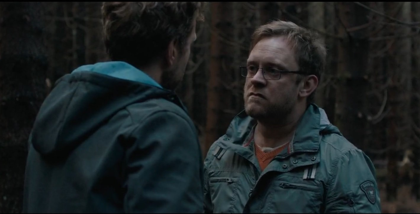Sam Troughton and Rafe Spall in The Ritual (2017)