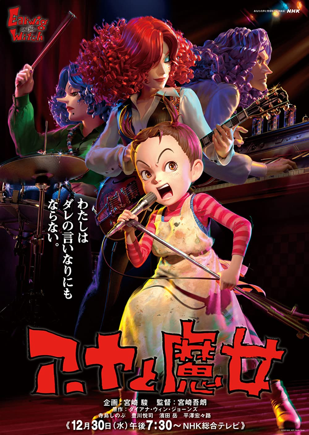 Earwig and the Witch 2021 English 720p HDRip 800MB | 250MB