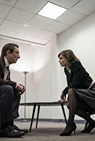Michael Emerson and Katja Herbers in N Is for Night Terrors (2021)