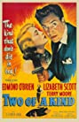 Two of a Kind (1951) Poster