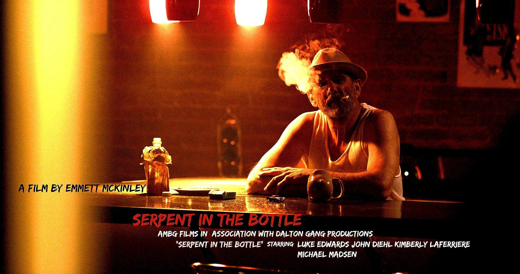 Thomas Wilson Brown, John Diehl, Luke Edwards, and Kimberly Laferriere in Serpent in the Bottle (2020)