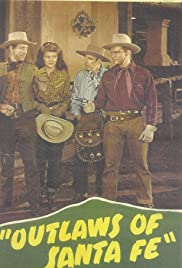 Outlaws of Santa Fe Poster
