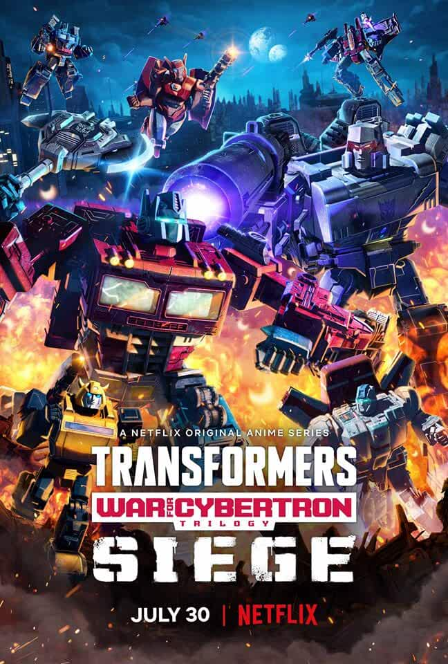 Transformers: War for Cybertron Trilogy 2020 Netflix Web Series Download In Hindi