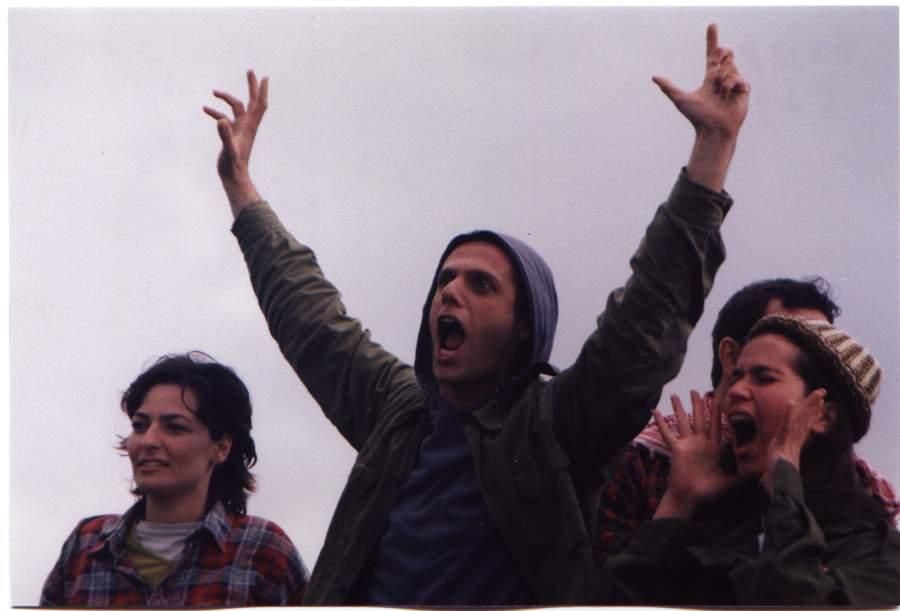 Orna Katz and Micha Celektar in HaGarin HaKashe (1999)