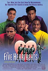 Harry Lennix, Leon, Robert Townsend, Tico Wells, and Michael Wright in The Five Heartbeats (1991)
